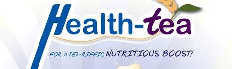 chatime Health-Tea Poster Design